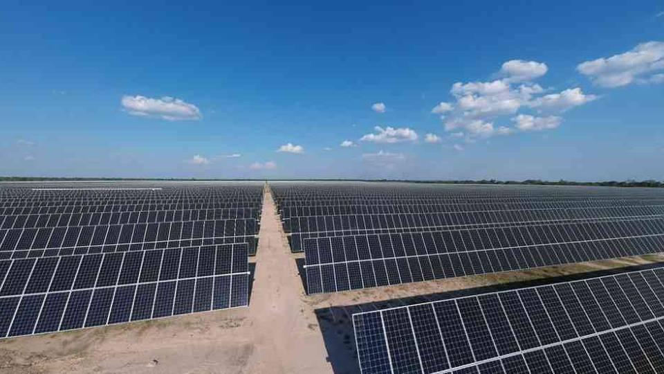 Así es la planta de energía solar más grande del país
